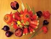تزیینات با میوه