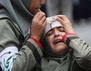 دانش آموز آسیب دیده در زلزله