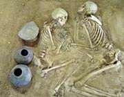 کشف قبرستان 3 هزار ساله در ياسوج