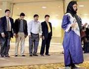 امام جماعت زن + عکس
