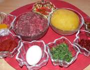مواد لازم برای تهیه پیراشکی سیبزمینی