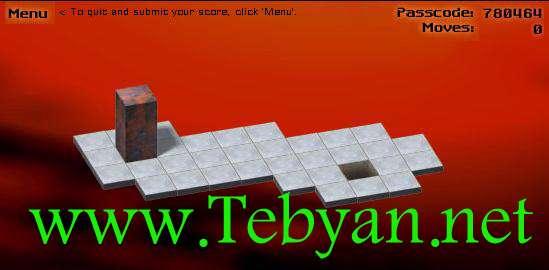 بازی آنلاین bloxorz miniclip