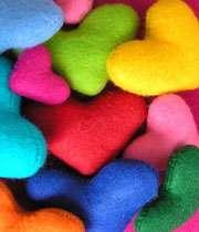 قلب رنگی