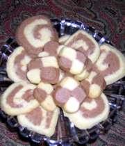 شیرینی خشک کاکائویی