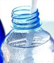آزمایش قطره چکان و بطری آب