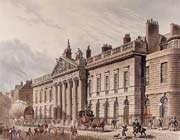 le siège de la british east india company à londres au 18ème siècle