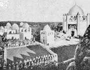 le cimetière médinois de baqi avant sa destruction par saud en 1925