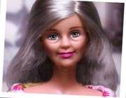 عروسک باربی در کهولت سن
