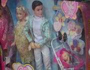 عروسک باربی حامله به همراه دوست پسر خود «پل» عرضه شده در فروشگاه های ایران