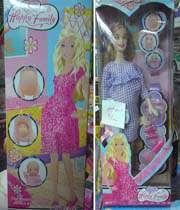 عروسک باربی حامله عرضه شده در فروشگاه های ایران