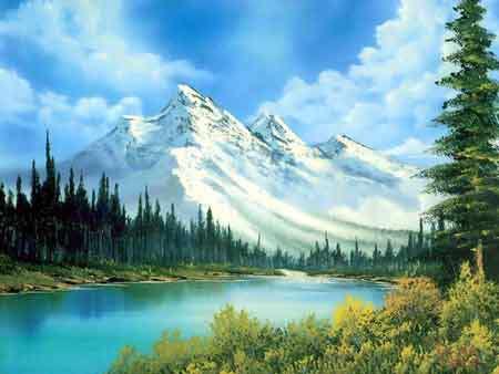 Peinture de la nature