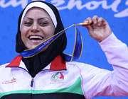 خدیجه آزادپور ووشو کار ایران