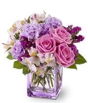 خانه ای مصفا با حضور گل ها