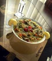 Image result for سوپ سبزیجات با پاستا