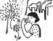 آسم کودکان در آلودگی هوا