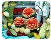 تزیین هندوانه برای کدبانو ها