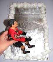 make an ice rink craft