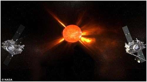 تصاویری از خورشید