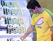 احسان قائم مقامي در مسابقه شطرنج