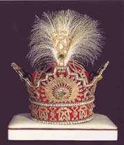 la couronne de mohammad ridha