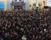 مراسم عزاداری با حضور تولیت عظمی آستان قدس