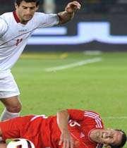 فوتبال ایران 1 - 0 روسیه