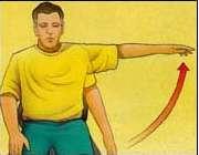 ورزش مفید برای بهبود درد شانه