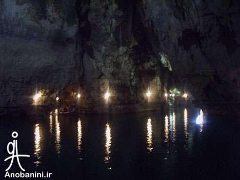 غار بزرگ آبي ايران