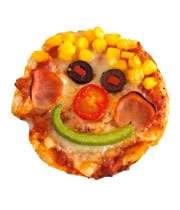 پیتزای دلقکی برای کوچولوی خونه
