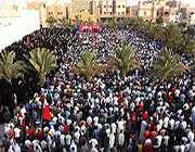 bahreynde geni? çapl? halk protestolar?