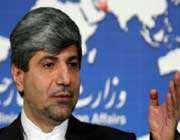 iranian foreign ministry spokesman ramin mehmanparast.