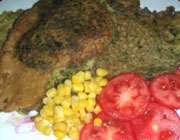 کوکو سبزی  گردویی