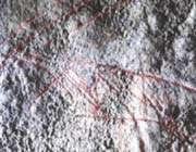 the ice age rock art was found on the gower peninsula, south wales.