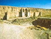 caravansérail de yazd-e khwast, entre 1587 et 1629.