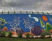 نقاشی دیوار-مشهد -