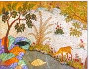 illustration de kalila et dimna, 1420-1425.