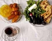 سفره افطار در رمضان