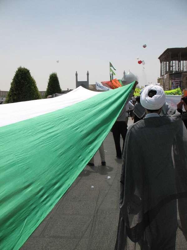 تصاویر راهپیمایی روز قدس در اصفهان