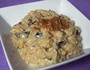 پودینگ برنج قهوهای