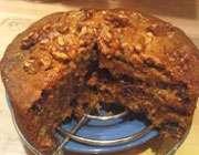 روش تهیهی کیک گردو و خرما برای مبتلایان به میگرن