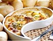 گراتن مرغ و سیبزمینی؛ غذایی مناسب برای ديابتيها