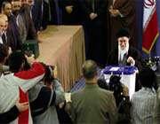 guide suprême de la révolution islamique s'est rendu aux urnes