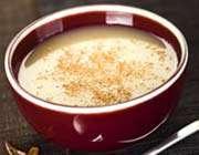 soupe de pommes à la cannelle