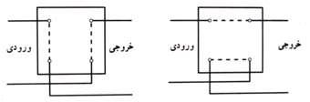 مدار الکتریکی کلید صلیبی