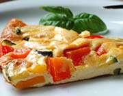 omelette grand mère à la tomate