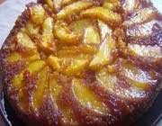 gâteau renversé aux pommes à ma façon
