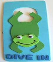 frog door hanger craft