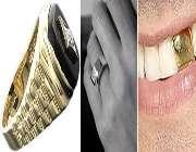 دندان طلا، حلقه