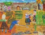 جایزهی مسابقهی بینالمللی نقاشی ژاپن در دستان کودک ایرانی