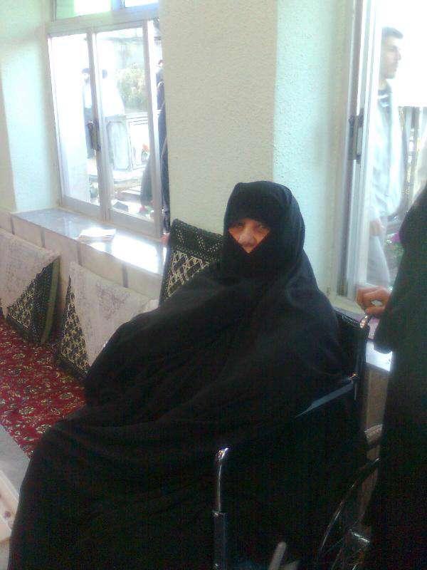 مادر شهید اصغریخواه